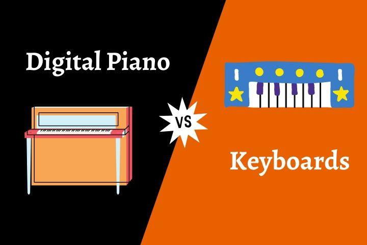 Digital Piano vs Keyboard 2021