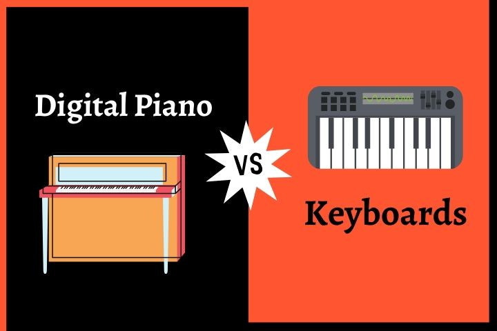 Digital Piano vs Keyboard: What's the Difference Between? (2021 Guide)